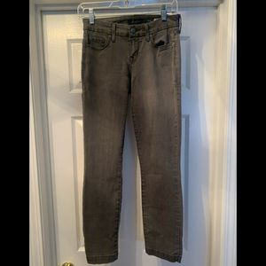 Anthropologie Level 99 Lily Crop Skinny Straight
